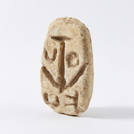Roman Large Limestone Bread Stamp