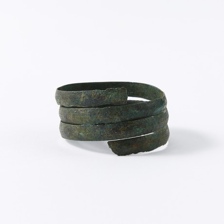 "Ancient Viking Coiled ""Serpent"" Bracelet"