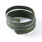 "Ancient Viking Coiled ""Serpent"" Bracelet"