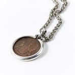 Shipwreck Treasure Coin // Silver Pendant