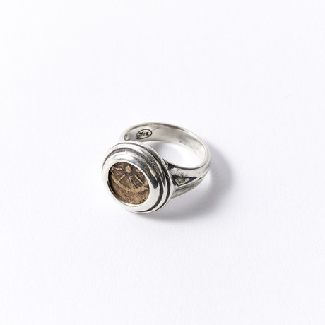 """Widow's Mite"" Coin Of The Bible // In Custom Men's Ring"