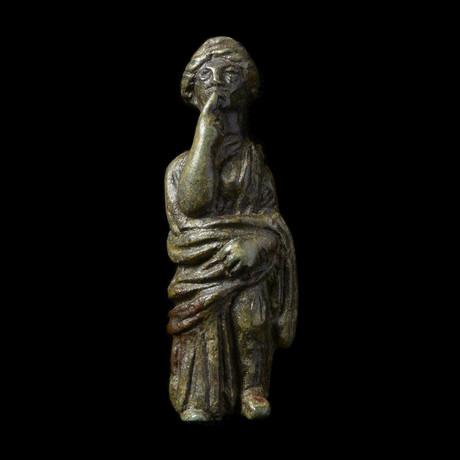 Roman Bronze Venus Figurine // 1st-3rd century AD