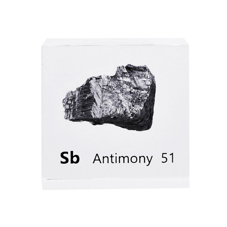 Lucite Cube // Antimony