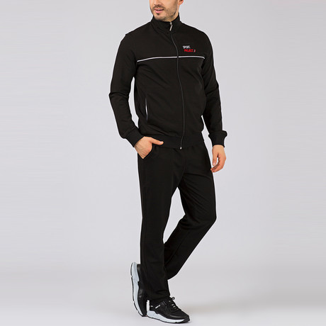 Fred Tracksuit // Black (S)