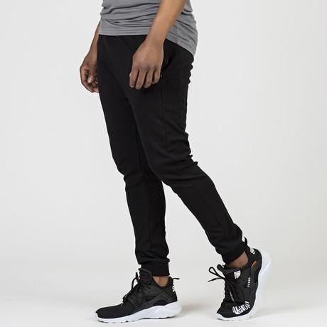 Jim Track Pants // Black (XS)