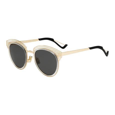 Women's Diorenigme Sunglasses // Cream + Black