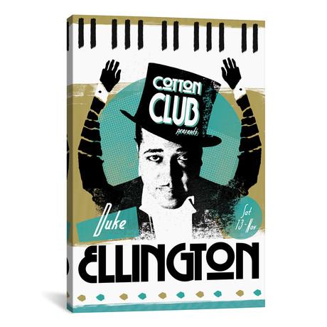 """Duke Ellington // Elliot Griffin (26""""W x 40""""H x 1.5""""D)"""