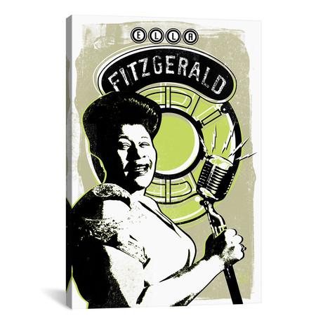 """Ella Fitzgerald // Elliot Griffin (18""""W x 26""""H x 0.75""""D)"""