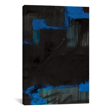 "Black azul // KBM (18""W x 26""H x 0.75""D)"