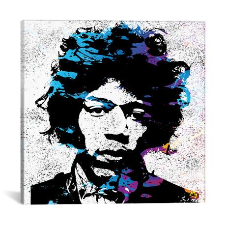 """Jimmy // Streetsky (18""""W x 18""""H x 0.75""""D)"""