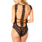Horizon Bodysuit // Black (3X)
