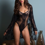 Chantal Bodysuit // Black (L)