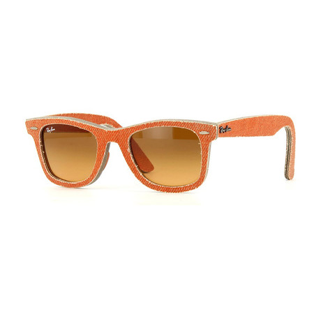 Women's Wayfarer Sunglasses // Orange