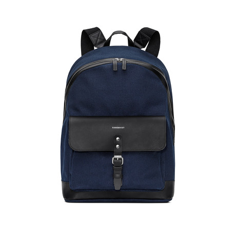 Andor Backpack (Beluga with Black Leather)