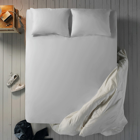 Microfiber Sheet Set // White // Cali King