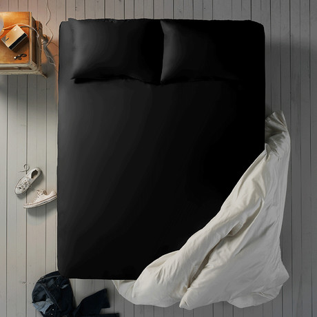 Microfiber Sheet Set // Midnight (Twin XL)