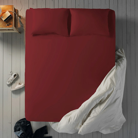 Microfiber Sheet Set // Chilli (Twin XL)