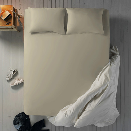 Microfiber Sheet Set // Coconut // Full