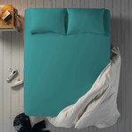 Microfiber Sheet Set // Tropican Cabana (Twin XL)