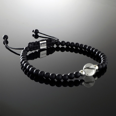 Solus Tourmalinated Quartz Bracelet (Small)