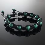 Malachite Shamballa Bracelet (Small)