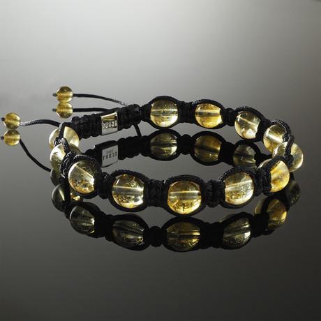 Citrine Shamballa Bracelet (Small)