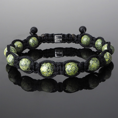 Russian Serpentine Shamballa Bracelet (Small)
