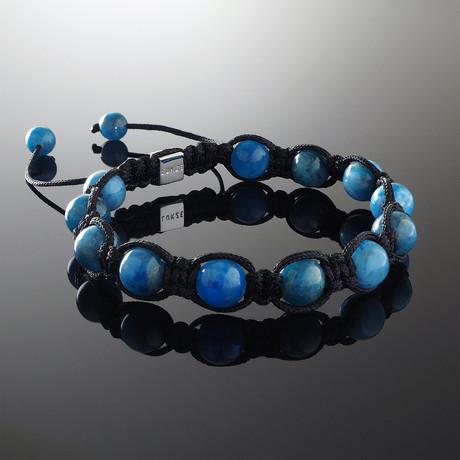 Apatite Shamballa Bracelet (S)