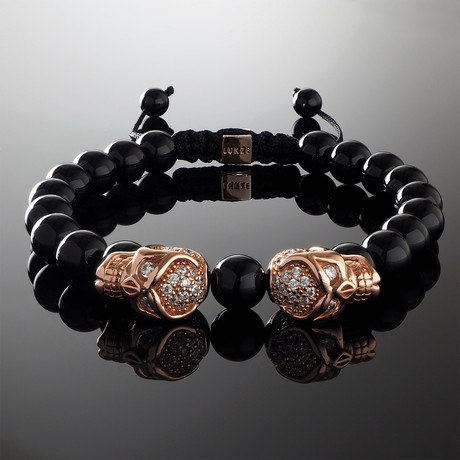 Phantom // Rose Gold Bracelet (S-M)
