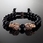 Phantom // Rose Gold Bracelet (Medium)
