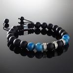 Apatite + Diamonds Bracelet (S)