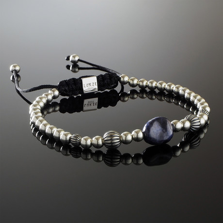 Imperial Sapphire Sterling Silver Bracelet (S)