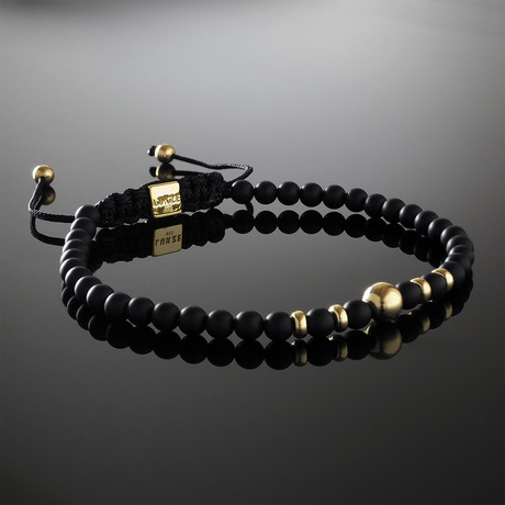 Invictus 9K Gold Bracelet (Small)
