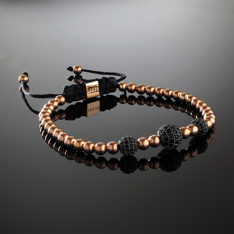 Trinity Rose Gold Bracelet (Small)