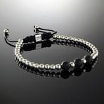 Lava + Sterling Silver Bracelet (S)