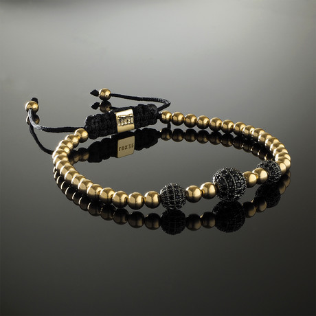 Trinity Yellow Gold Bracelet (S)
