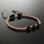 Lava + Rose Gold Bracelet (Small)
