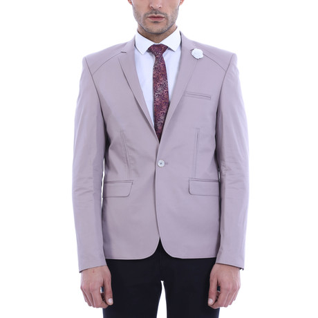 Norman Slim Fit Blazer // Lilac (XS)