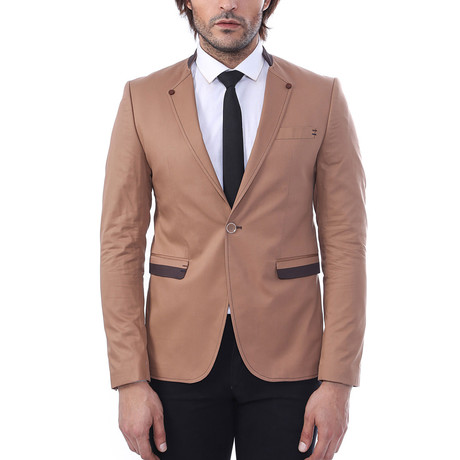 Jackson Slim Fit Blazer // Brown (Euro: 44)