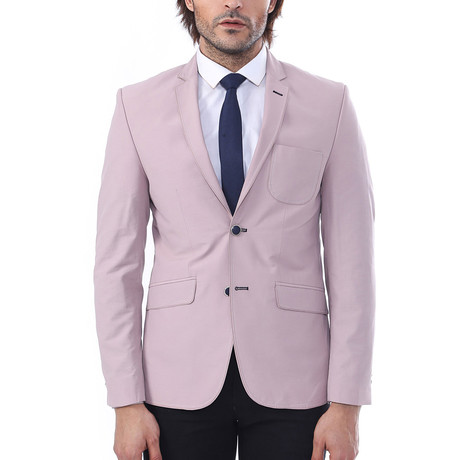 Zachary Slim Fit Blazer // Lilac (Euro: 44)