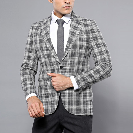 Dax Slim Fit Blazer // Gray (Euro: 44)