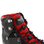 Spero Sport Hiker Boots // Black + Red (US: 9.5)