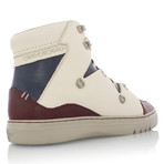 Spero Sport Hiker Boots // Beige + Burgundy + Navy (US: 7)