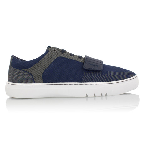 Cesario Lo Woven Shoes // Navy + Gray (US: 7)