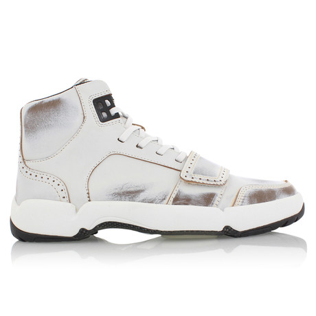 Cesario Archive Sneakers // White Burnish (US: 7)