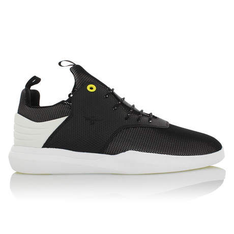 Deross Low Top Sneaker // Black + White (US: 7)