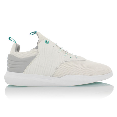 Deross Low Top Sneaker // White + Gray (US: 7)