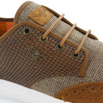 Defeo Wingtip Oxford Sneaker // Brown (US: 8)