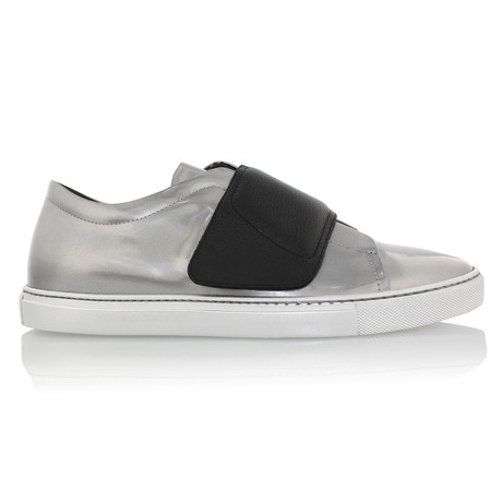 Turino Low Top Sneaker // Silver + Black (US: 7)