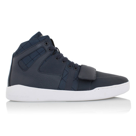 Manzo Classic High Top Sneakers // Navy (US: 7)